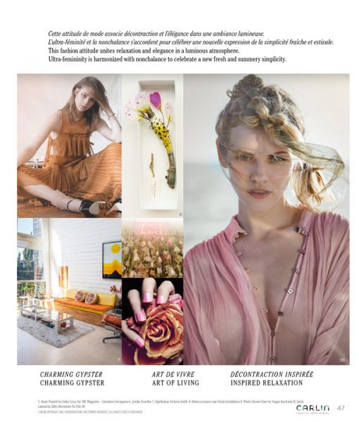 trend books consulting cahier tendance woman carlin